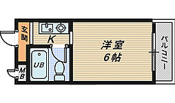 中野ロイヤルハイツ[3階]の間取り