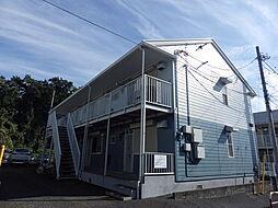 埼玉県所沢市向陽町の賃貸アパートの外観