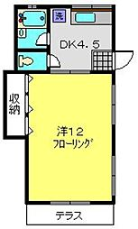 マリンコートA[1-1号室]の間取り