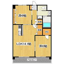 i BUILDHING[2階]の間取り