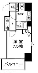 プレールドゥーク浅草橋[12階]の間取り