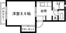 フレグランス・アイ[207号室]の間取り