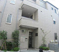 東京都中野区本町2丁目の賃貸アパートの外観