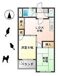 新宿ビル[204号室]の間取り