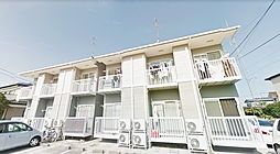 福島県郡山市安積町荒井字南大部の賃貸アパートの外観