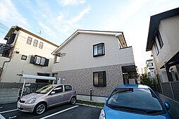 大阪府堺市西区鳳中町4丁の賃貸アパートの外観