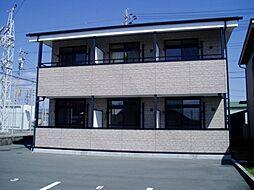 愛知県豊川市為当町石田の賃貸アパートの外観