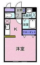 レジデンス サンマリー[2階]の間取り