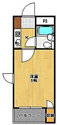 ジュネパレス幕張本郷第5[3階]の間取り