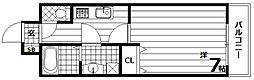 アルティス神戸[5階]の間取り