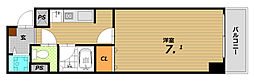 コートSK[4階]の間取り