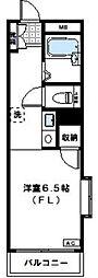 神奈川県川崎市多摩区宿河原7丁目の賃貸マンションの間取り