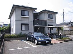福岡県春日市下白水北1丁目の賃貸アパートの外観