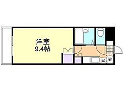 倉敷ライフ・キャンパス C棟[102号室]の間取り