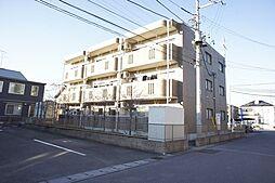 栃木県小山市西城南6丁目の賃貸マンションの外観