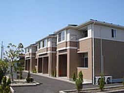 新潟県燕市東太田の賃貸アパートの外観
