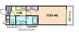 大野レジデンス[2階]の間取り