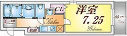 兵庫県神戸市須磨区北町3丁目の賃貸アパートの間取り