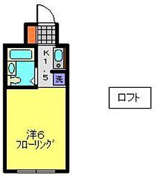 YOKOHAMA BAY HILLS[305号室]の間取り