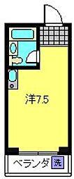神奈川県横浜市西区宮ケ谷の賃貸マンションの間取り