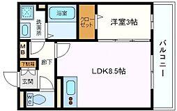 ハナミズキ[1階]の間取り