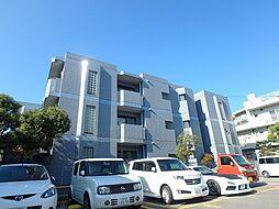 大阪府池田市井口堂2丁目の賃貸マンションの外観