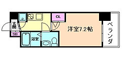 セレニテ福島カルム[2階]の間取り