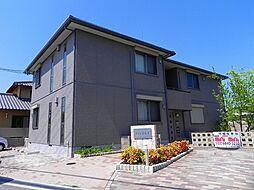 大阪府豊中市勝部2丁目の賃貸アパートの外観