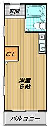 田中マンション[3階]の間取り
