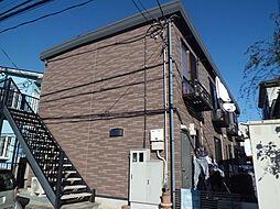 埼玉県川口市戸塚5丁目の賃貸アパートの外観