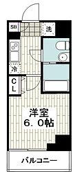 レガーロ吉野町 10階1Kの間取り