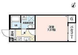 ネクストステージ宮原(ネクストステージミヤハラ)[3階]の間取り