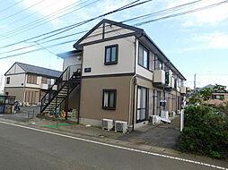 神奈川県伊勢原市沼目3丁目の賃貸アパートの外観