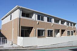 愛知県岡崎市戸崎町字藤狭の賃貸アパートの外観