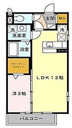 ディアコート(北坂戸)[1階]の間取り