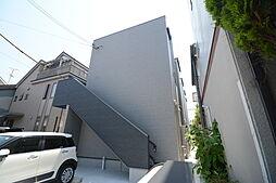 大阪府堺市堺区桜之町東1丁の賃貸アパートの外観