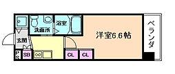 エステムプラザ梅田・中崎町IIIツインマークスNR[4階]の間取り