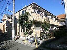 東京都江戸川区西小岩5丁目の賃貸アパートの外観