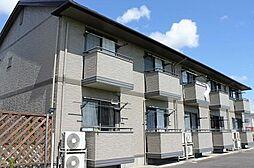 愛知県岡崎市赤渋町字郷東の賃貸アパートの外観