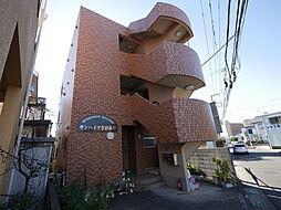 神奈川県海老名市東柏ケ谷4の賃貸マンションの外観