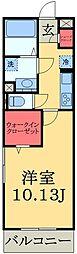 千葉県市原市五井中央東2丁目の賃貸アパートの間取り