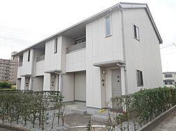 神奈川県厚木市栄町2丁目の賃貸アパートの外観