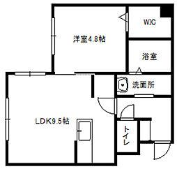 グランメールTS本郷9[2階]の間取り