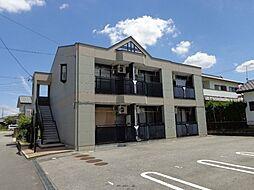 愛知県岡崎市富永町字社本の賃貸アパートの外観