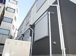 千葉県市川市市川4の賃貸アパートの外観