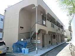 大阪府大阪市東淀川区東淡路5丁目の賃貸アパートの外観