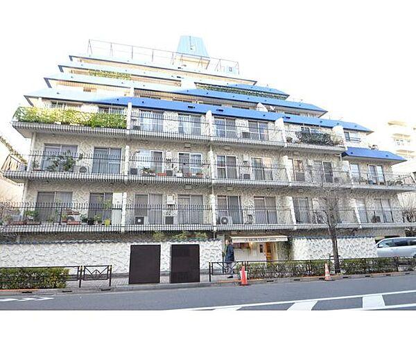 東京都渋谷区松濤2丁目の賃貸マンションの外観