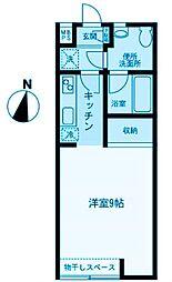 神奈川県川崎市幸区北加瀬1丁目の賃貸マンションの間取り