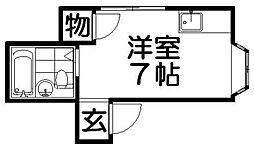 メゾン貞光II[1階]の間取り