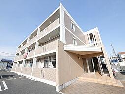 神奈川県厚木市中依知の賃貸マンションの外観
